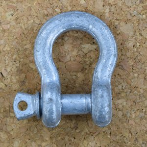 111107<br>亜鉛メッキおたふくシャックル 19.0mm
