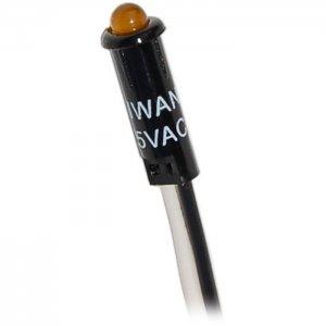 227507<br>BlueSea LED 表示ライト Amber for 120VAC パネル<br>(8169)