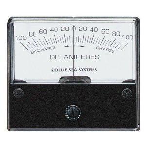 227545<br>BlueSea 電流計 アナログ DC 100-0-100 <br>(W66.7xH60.3)<br>(8253)