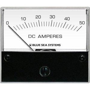 227546<br>BlueSea 電流計アナログ DC 0-50+Shunt<br>(8022)