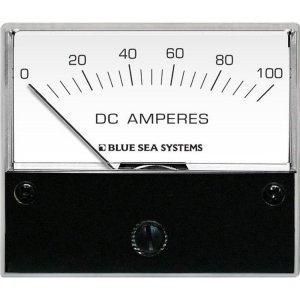 227547<br>BlueSea 電流計アナログ DC 0-100A + Shunt<br>(8017)