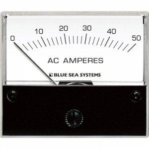 227548<br>BlueSea AC 電流計アナログ 0-50 Amp + COIL<br>(9630)