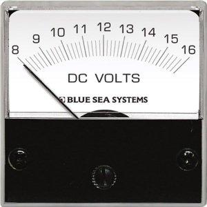 227772<br>BlueSea DCボルトメーターMicro DC 8-16V<br>(8028)