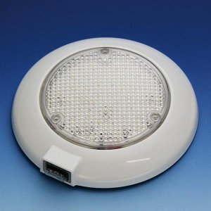 228022<br>BestLight 24LED 天井灯スイッチ付DV12V<br>(J-689-24LED)