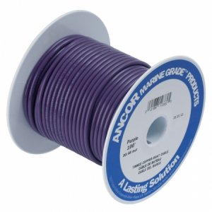 230328<br>Ancor TIN電線 #16(1㎟)紫色/30M巻<br>(102710)
