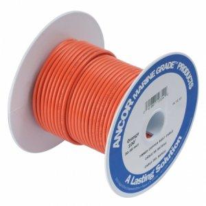 230330 Ancor TIN電線 #16(1㎟)オレンジ色/30M巻 (102510)
