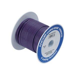 230348<br>Ancor TIN電線 #14(2㎟)紫色/30M巻<br>(104710)