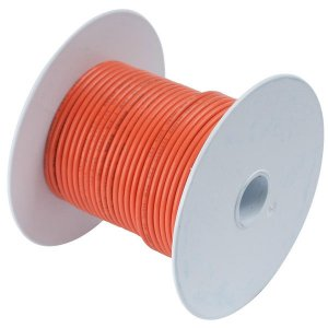 230350<br>Ancor TIN電線 #14(2㎟)オレンジ色/30M巻<br>(104510)
