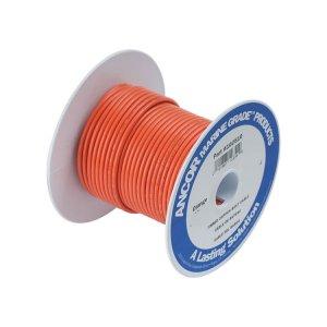 230390<br>Ancor TIN電線 #10(5㎟)オレンジ色/30M巻<br>(108510)