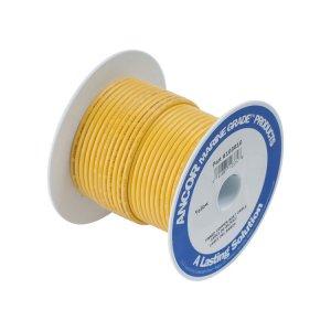 230406<br>Ancor TIN電線 #8 (8㎟)黄色/30M巻<br>(111910)