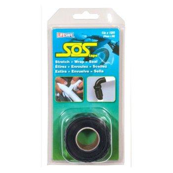 316239 Incom SOS シリコンリペアーテープ黒 2.5cm x 330cm (RE6490)