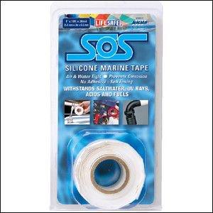 316240<br>Incom SOS シリコンリペアーテープ白 2.5cm x 330cm<br>(RE6499)