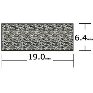 317070<br>Taco ハッチシールテープ <br>6 x 19 x 2.4M<br>(V30-0748B8-2)