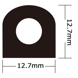 317353<br>Taco ウエザーシールテープ <br>12.7 x 12.7 x 3.3M<br>(V30-0202B10-1)