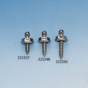325348<br>テナックス・ファスナー  タッピングマウント4 x 12mm  Nickel plated<br>('04386.05098)