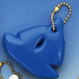370131<br>フローティングキーホルダー <br>(ヨット型)青