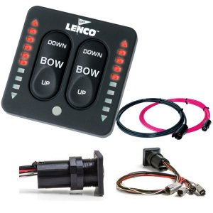 401623<br>Lenco LED Ind.スイッチキット Dual アクチュエーター <br>(15171-001)