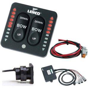 401625<br>Lenco LED Ind.スイッチキット Dual アクチュエーター W/コントローラー <br>(15271-001)