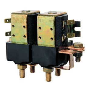 600414<br>リバーシブルソレノイドスイッチ, 24V, 3000W (M8 terminals)<br>(AFST324D)