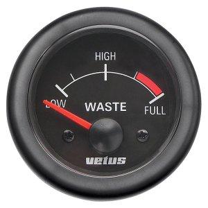 M-601788<br>Vetus Waste waterゲージ   12v  52 mm (2&#34;) <br>(Vetus Waste12B)