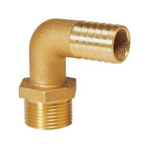 602409 Vetus Brass90° ホース口 1 1/2BSP - 38 mm (HPM11/2B)