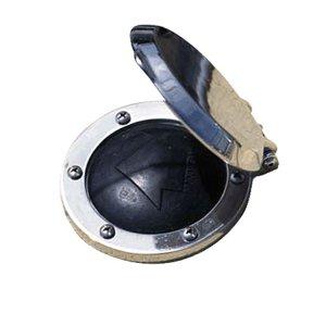 610146<br>Maxwell フットスイッチSUSカバー付き (150Amp)<br>(P100735)