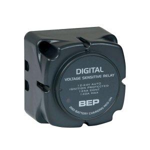 720108<br>BEP デジタル電圧感知リレー 12/24Volt共用 DVSR 710-140A<br>(710-140A)