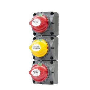 720110<br>BEP 2+1 バッテリースイッチ 715-V<br>(715-V)