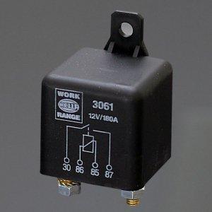 741127<br>Hella 高容量リレー N/OPEN - 12V 180A <br>(3061)