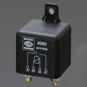 741128<br>Hella 高容量リレー N/OPEN - 24V 80A PEAK<br>(3062)