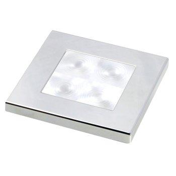 M-740743<br>Hella SL角 12V White, サテンクロームリム(LED)