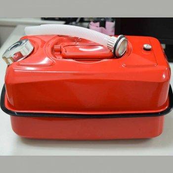 M-318596 ガソリン携行缶(スチール缶)赤色[10L]