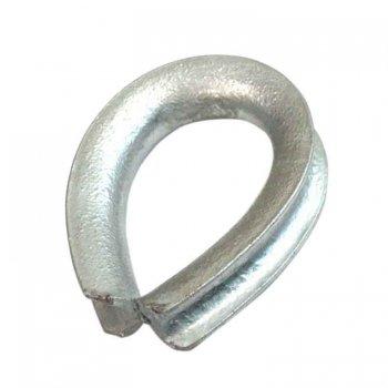 111067<br>亜鉛メッキシンブル ロープサイズ:24mm