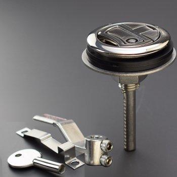 324302  ハッチラッチ 丸 91(76)mm 8-36mm、Key付  (KH86824K)