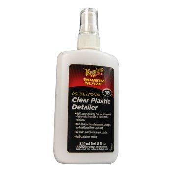 352463<br>Meguiar ミラーグレーズNo.18 プラスチックディテーラー (236 ml)<br> (P-M1808)
