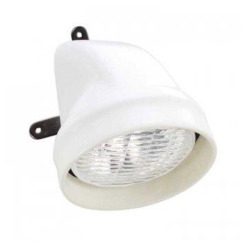 227043<br>Plastimo 作業灯マスト取付35w 白<br> (17530A)