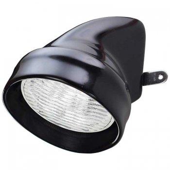 227044<br>Plastimo 作業灯マスト取付 35w 黒<br> (17531A)
