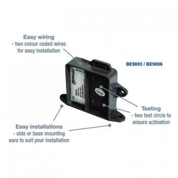 319768<br>Whale ビルジスイッチ 水感知センサー12/24V<br>(BE9003)