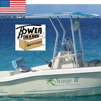 405301 24〜30フィートオープンタイプボートの為のスタンダードT-Top (TIB51/52/55KD)