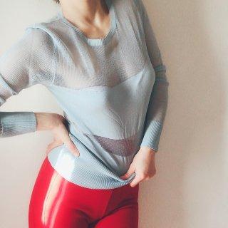LA PERLA/''Embrace'' Long Sleeve Top...BL(20803)