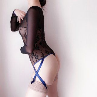 <img class='new_mark_img1' src='https://img.shop-pro.jp/img/new/icons20.gif' style='border:none;display:inline;margin:0px;padding:0px;width:auto;' />MAISON CLOSE/Thong Body with Suspender...''Vertige d'Amour''(609731)