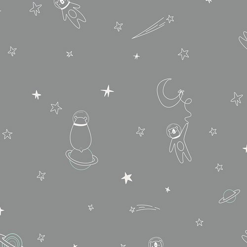 Art Gallery Fabrics Capsules Stargazer Premium Cotton Spatial Friends