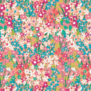 <img class='new_mark_img1' src='https://img.shop-pro.jp/img/new/icons3.gif' style='border:none;display:inline;margin:0px;padding:0px;width:auto;' />WPA-64503 Seaside Garden Coral - West Palm コットン100%