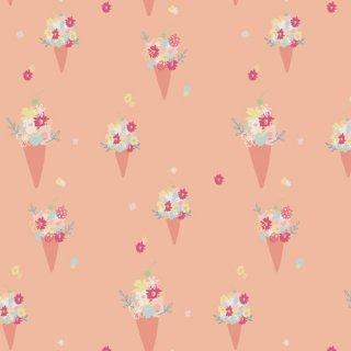 DDR-25447 Blooming Ice Cream -Daydream コットン100%