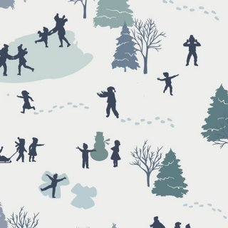 <img class='new_mark_img1' src='https://img.shop-pro.jp/img/new/icons3.gif' style='border:none;display:inline;margin:0px;padding:0px;width:auto;' />SND-65400 Building a Snowman - Snow Day  コットン100%