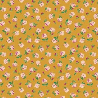 TFS-99113 Gentle Rosebuds Solar  -The Flower Society コットン100%