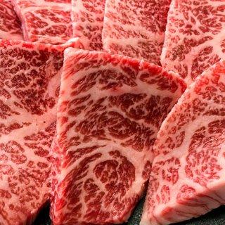 【米沢牛・山形牛 焼肉用】霜降り牛カルビ/超熟大トロカルビセット(各300g合計600g)