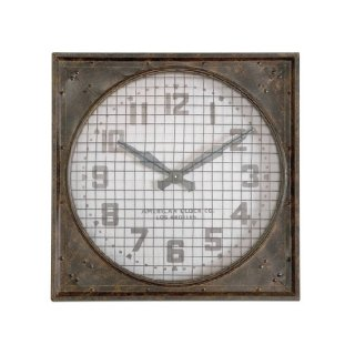 Warehouse Clock w/ Grill