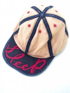 KAPITAL(キャピタル)チノ 2TONE KOLA CAP (SLEEP刺繍)