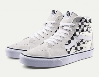 <img class='new_mark_img1' src='https://img.shop-pro.jp/img/new/icons6.gif' style='border:none;display:inline;margin:0px;padding:0px;width:auto;' />VANS(ヴァンズ) SK8-HI CHECKER FLAME